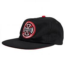 Cap Hollow Cross Black/Red