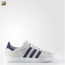 Superstar Vulc Adv Crystal White Collegiate Navy
