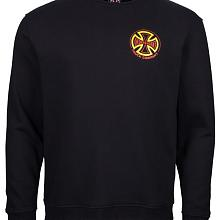 Crew Two Tone Black Red  Yellow