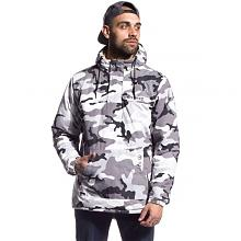 Double Face Anorak Reversible SAND