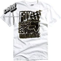 Built Up Ss Tee white