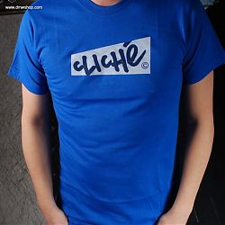 Handwritten Paper S/S Tee Royal