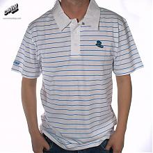 Polo Hand Polo White Stripe