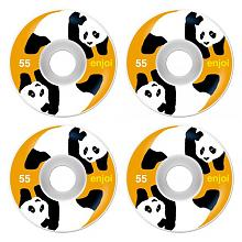 Panda Standard  Wheel white orange 53 mm