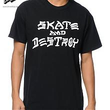 Skate and Destroy T-Shirt Black