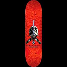 Ray Rodriguez Skull  & Sword Red 8,25 x 31,95
