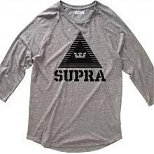 Triangle Prem Raglan Grey Heather