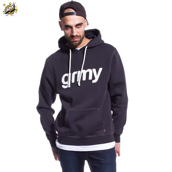 Grimey SUDADERA GRIMEY THE LUCY PEARL HOODIE FW17 BLACK - www ... 67a5fea8d0d