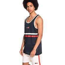 ASHE MESH TANK TOP - NAVY