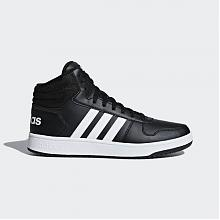 ZAPATILLA VS HOOPS MID 2.0 Black White