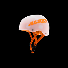 ALK13 Helmet H2O+ blanco translucido/orange