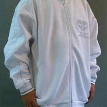 Hamer jacket white/silver