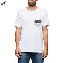 PIERCE CREW T-SHIRT Optic White