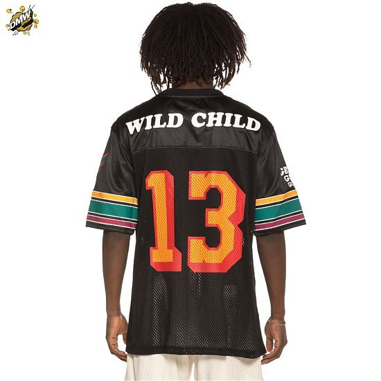 Grimey  Football Grimey Wild Child SS19 black