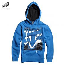 Boys Disater Tap Pullover Fleece Blu