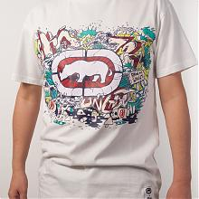 Paint pot Monster T-shirt  White