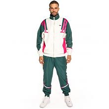 PACK TRACK JACKET + TRACK PANT NEMESIS FW18 WHITE/GREEN