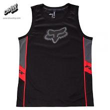 Lazer Jersey Black logo BLK/RED