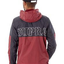 DASH JACKET  BURGUNDY/BLACK