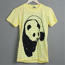 Notebook Panda S/S Womens Lemon