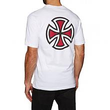 Bar Cross Tee  White