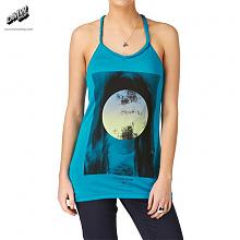 Sweet Memories Tank Top Vibrant tourquoise .