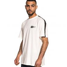 ASHE PIPING TEE SS18 WHITE-BLACK