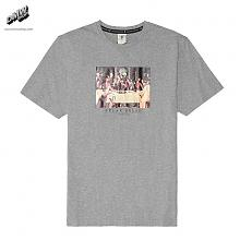 C&S Break Bread Tee grey heather/mc