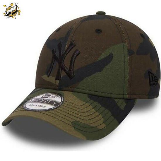 New Era New York Yankees League Essential 9Forty Camo/Black Adjustable - New Era