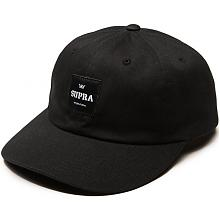 Label Slider Hat Black