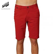 SELECTER CHINO SHORT Tibetan Red