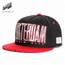 C&S Blazin City Cap black/red/smoke