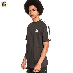 Ashe Pipping Tee Black