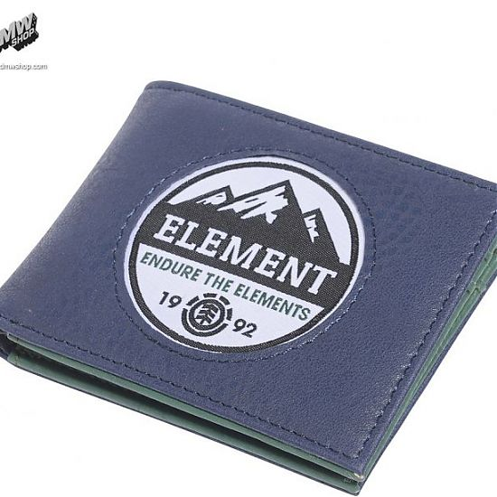 Element Stoned Wallet Dark Denim