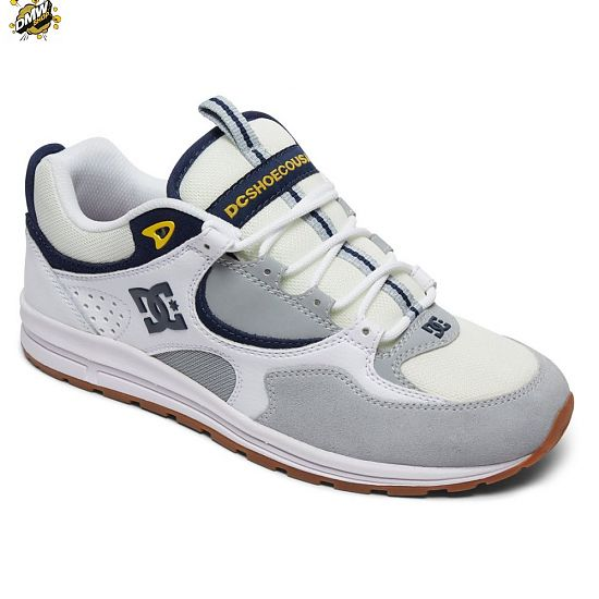 DC Shoes Kalis Lite WHITE/GREY/YELLOW (wyy)