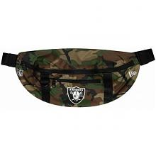 NFL WAIST BAG LIGHT OAKRAI WDCWHI--OSFM