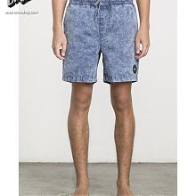 Fade Volley Shorts Dark Denim