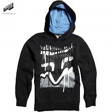 Boys Disater Tap Pullover Fleece Black