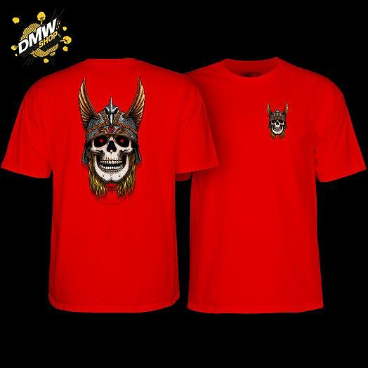 Powell Peralta TEE ANDY ANDERSON SKULL RED