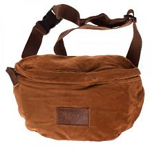 Riñonera Natural Suede Fany Pack Brown