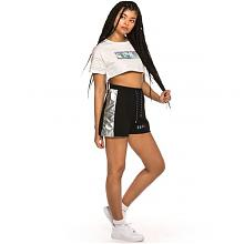 Camiseta Grimey chica Fluid Planet Crop Top SS19 White