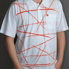 Zapp short sleeve polo white