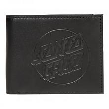 Wallet Embossed Dot Wallet Black