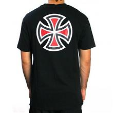 Bar Cross Tee  Black