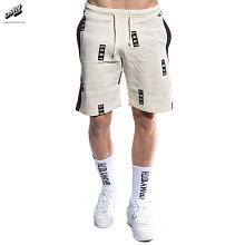 BERMUDA STICK UP SWEATSHORTS SS17 ANTIQUE WHITE