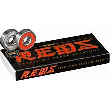 RED'S Bearings  SKATEBOARD BEARINGS 8 PACK