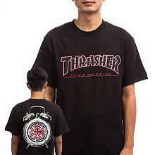 Tee Trasher TTG S/S BLACK