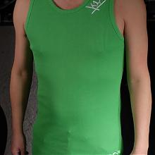 Lux wifebeater apple green