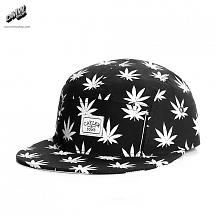 C&S BUDZ n STRIPES 5-Panel Cap Black/White