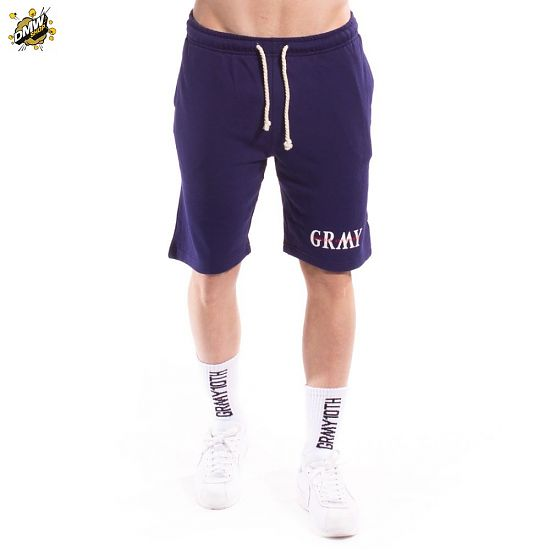GRIMEY MIST BLUES SWEATSHORTS SS17 NAVY